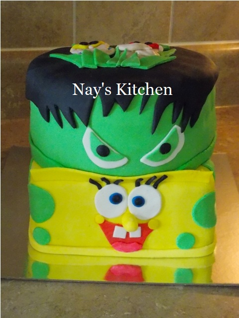 Sponge Bob & The Hulk