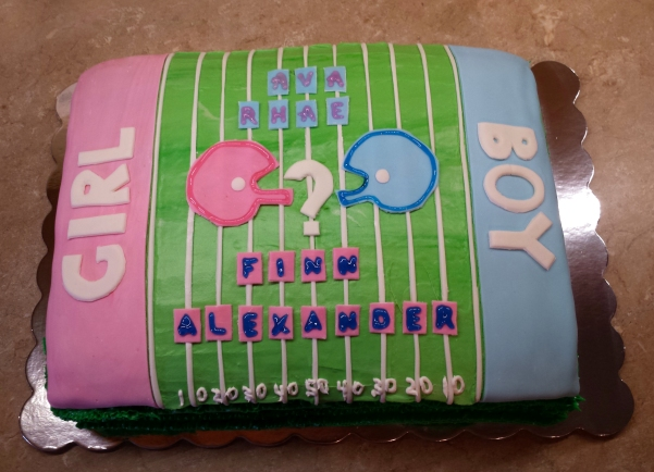 Baby Reveal Cake January 30th 2015 (4)